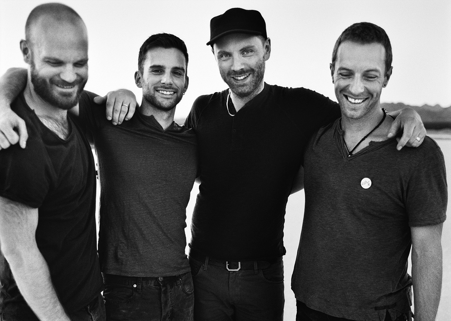 Coldplay Press Pic 2014 - Foto: Anton Corbijn