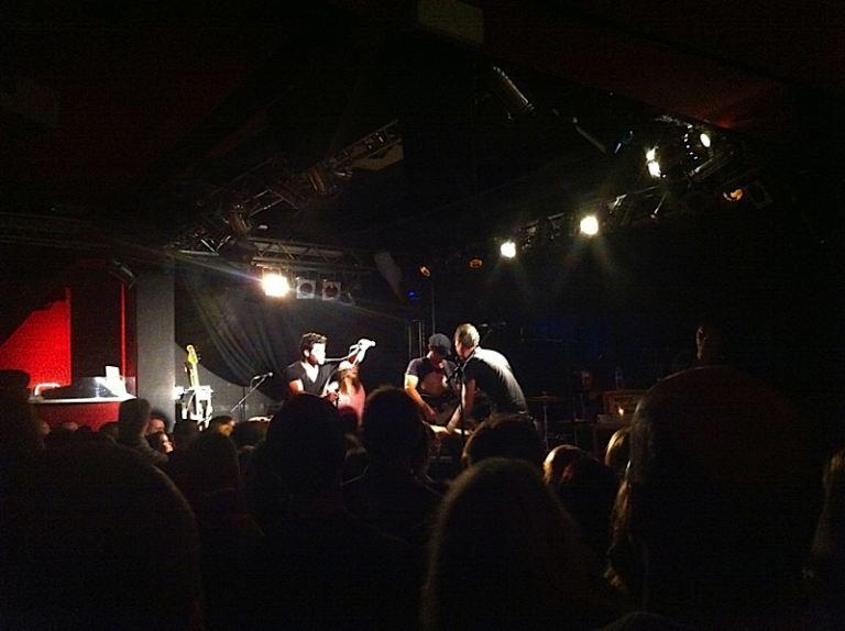 The Airborne Toxic Event - Live im Frannz Club Berlin