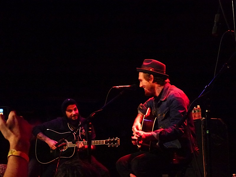 Brian Fallon & Bouncing Souls @ Musichall Williamsburg, NYC, 2013