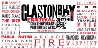 Glastonbury Festival 2014 Line-Up-Poster