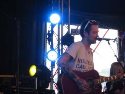 Glastonbury 2015 - Frank Turner & Billy Bragg at Leftfield