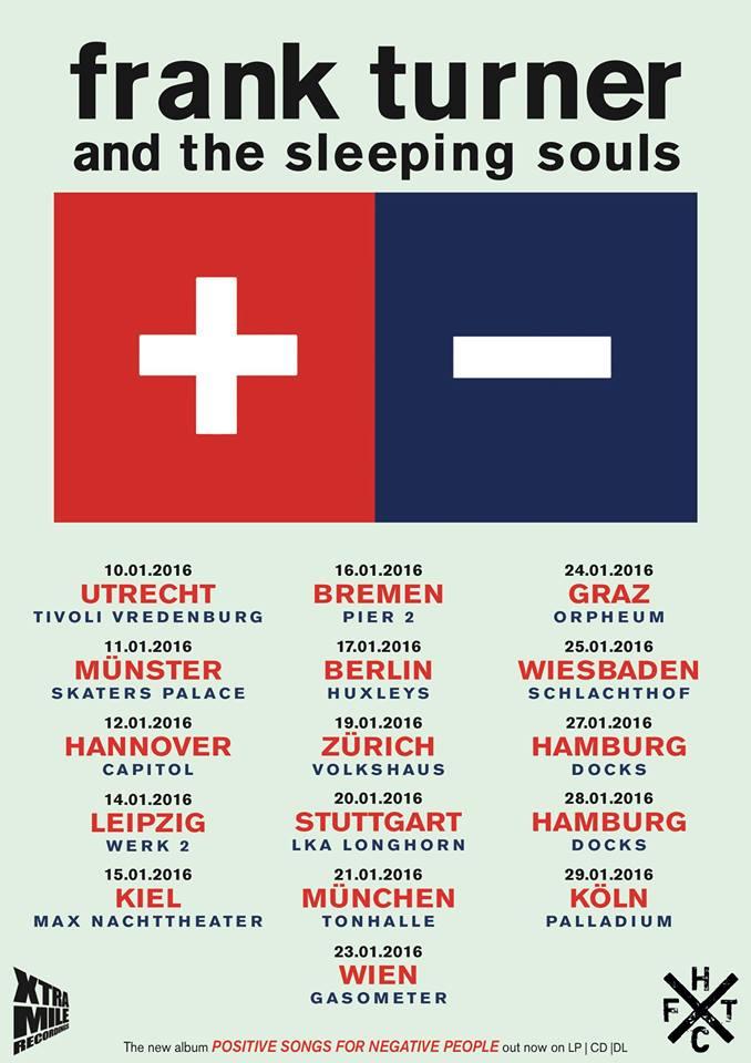 Frank Turner - Tour 2016