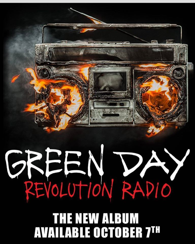 Green Day Revolution Radio Album Cover