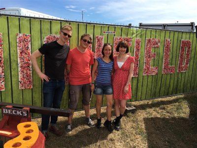 Skinny Lister & Bine+Olli @ Highfield Festival 2016