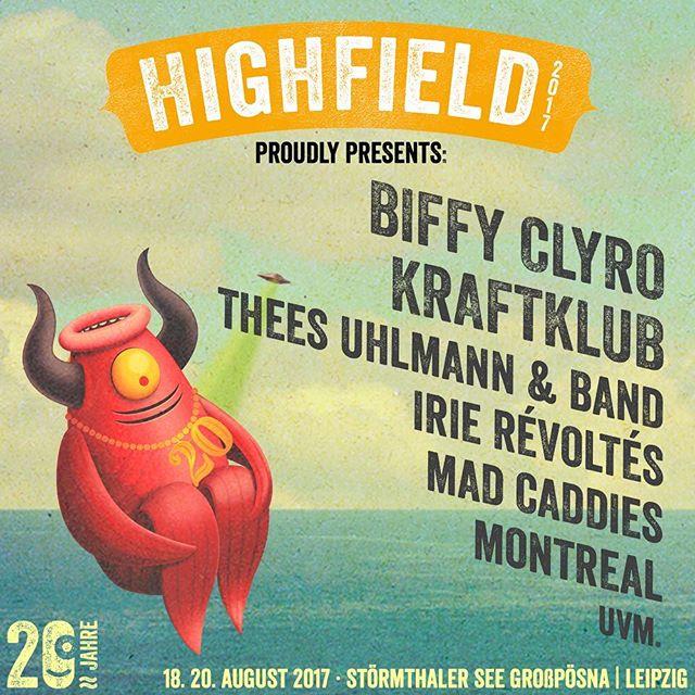Highfield Festival 2017 - 3.Bandwelle
