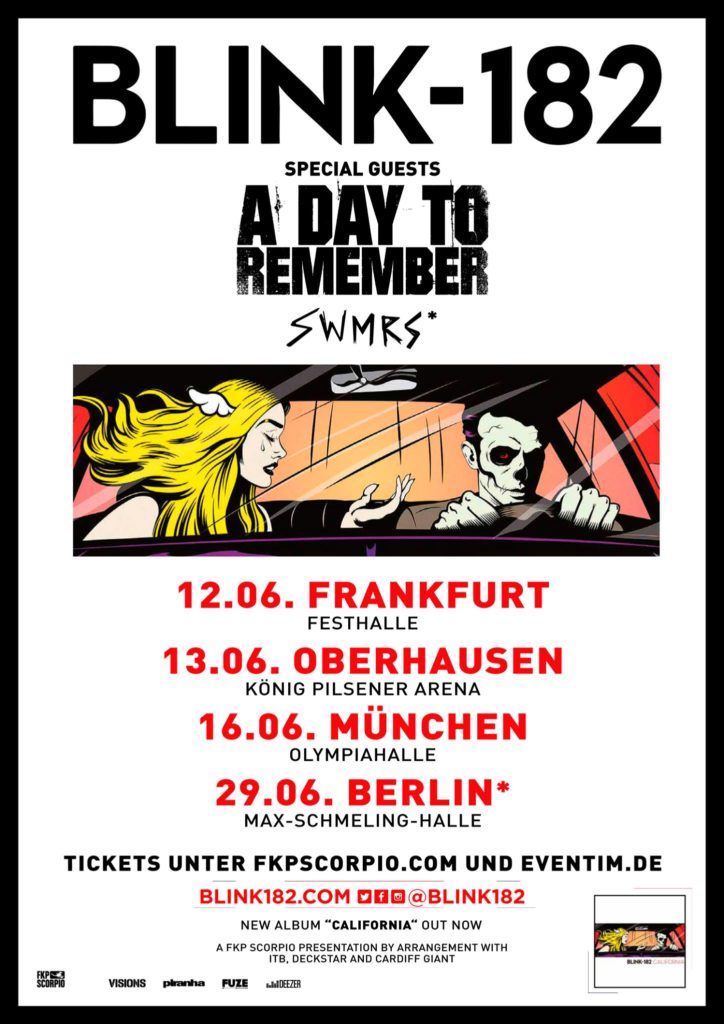 Blink-128 - Germany 2017