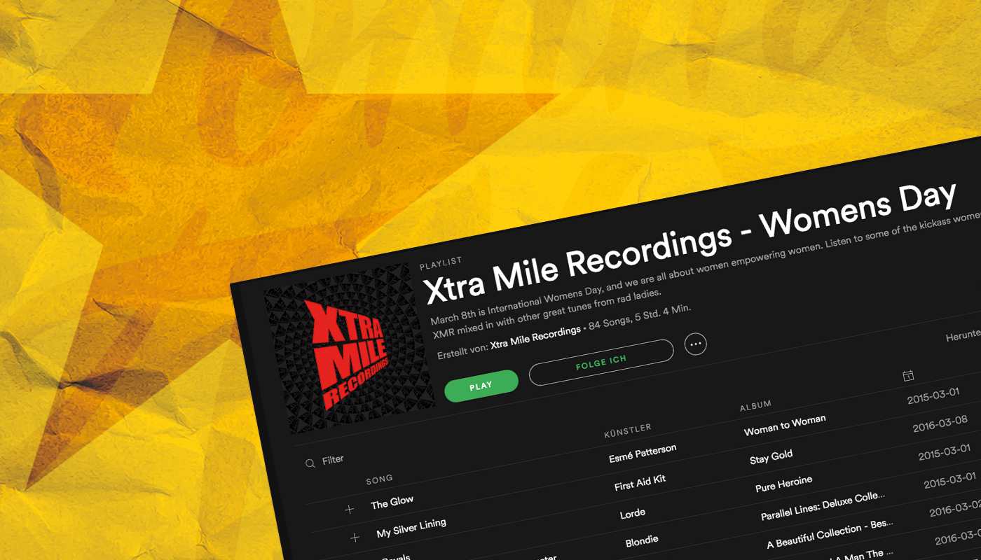Xtra Mile - International Women's Day