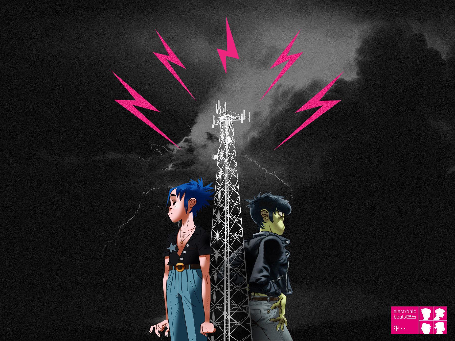 Gorilaz Tower - ©Telekom Electronic Beats/Gorillaz