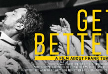 "Frank Turner - ""Get Better"" Movie Poster"