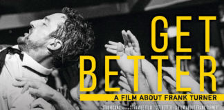 """Frank Turner - """"Get Better"""" Movie Poster"""