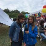Laura vom Zwergfunk im Interview @ Bergfunk Open Air 2017