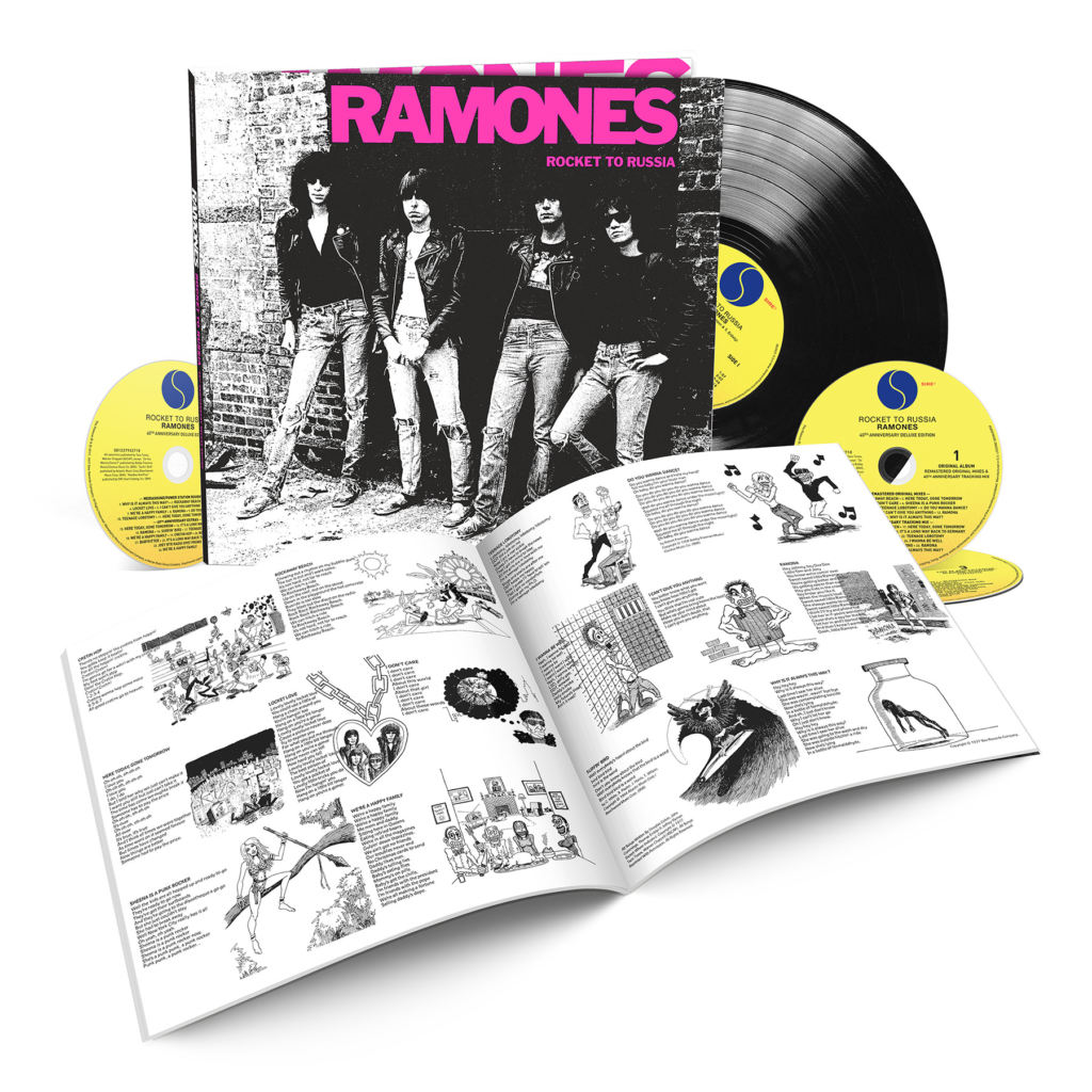 "RAMONES ""Rocket To Russia -40th Anniversary-Edition"""