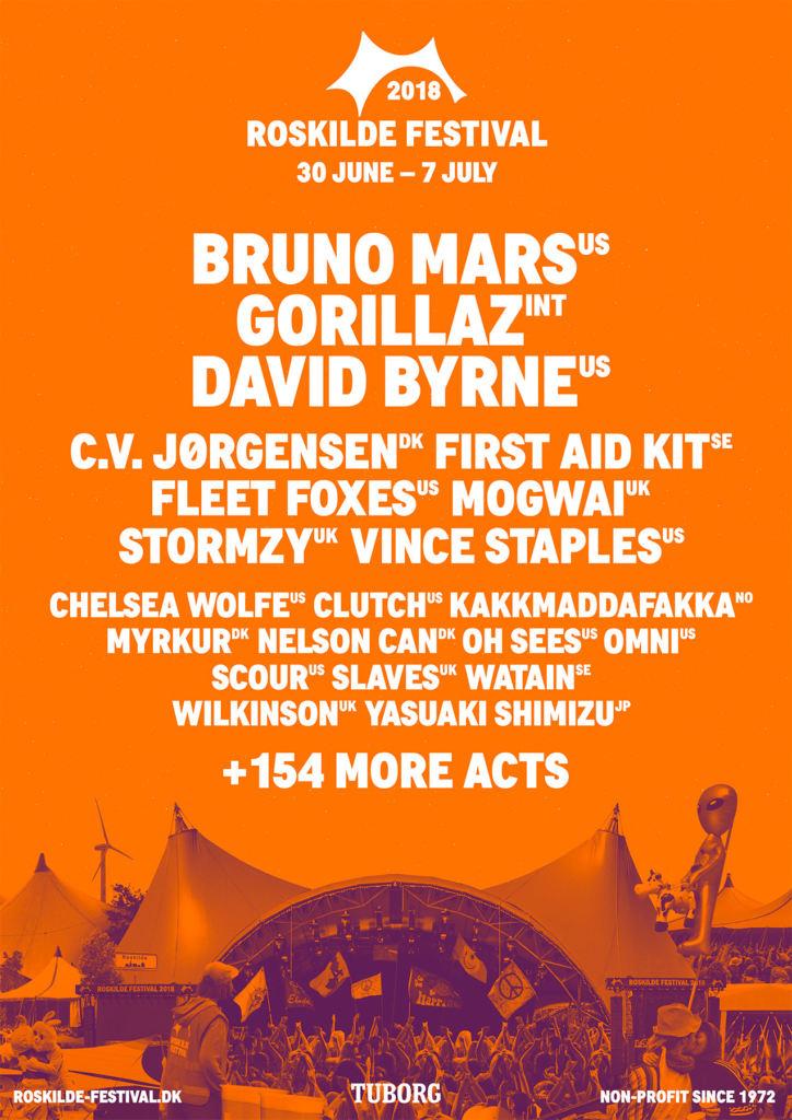 Roskilde Festival 2018 - Lineup