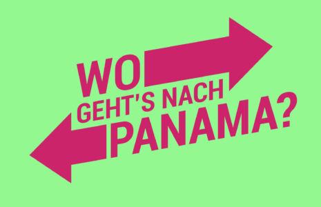 Wo geht's nach Panama