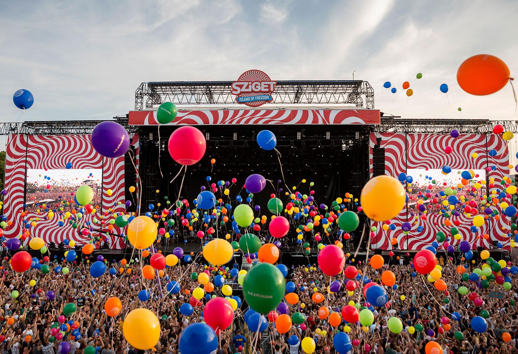 Sziget Festival - Foto: Balázs Mohai