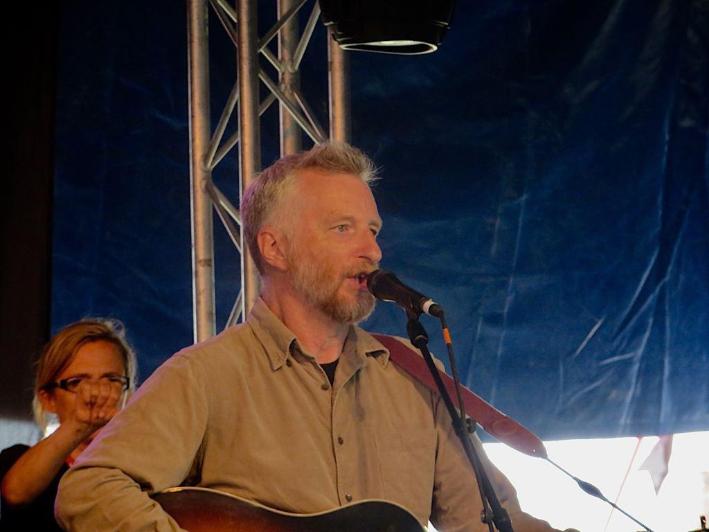 Billy Bragg @Glastonbury Festival 2014 - Foto: Olli Exner