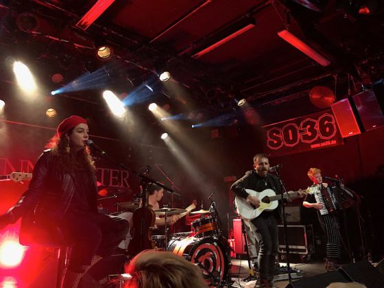 Holy Moly & The Crackers - Live SO36, Berlin 13.3.2019