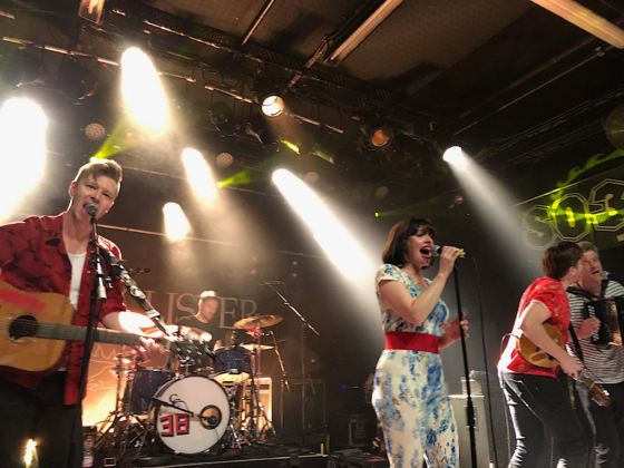 Skinny Lister - Live SO36, Berlin 13.3.2019