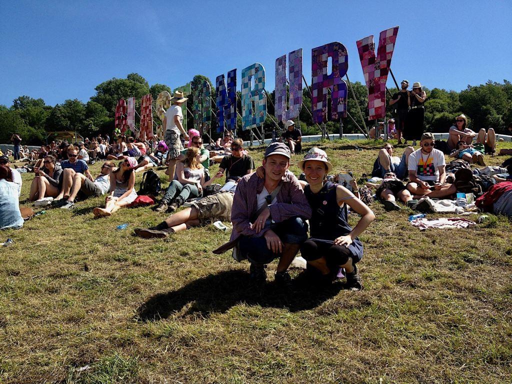 Wir @ Glastonbury Festival 2013 - Foto: Olli Exner