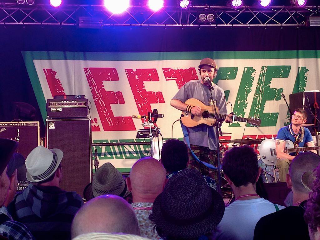 Beans On Toast @ Glastonbury Festival 2013 - Foto: Olli Exner