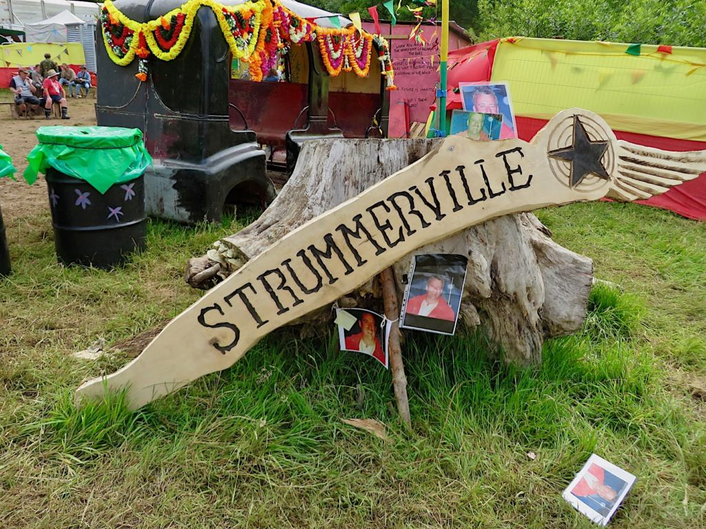 Strummerville @Glastonbury Festival 2015 - Foto: Olli Exner