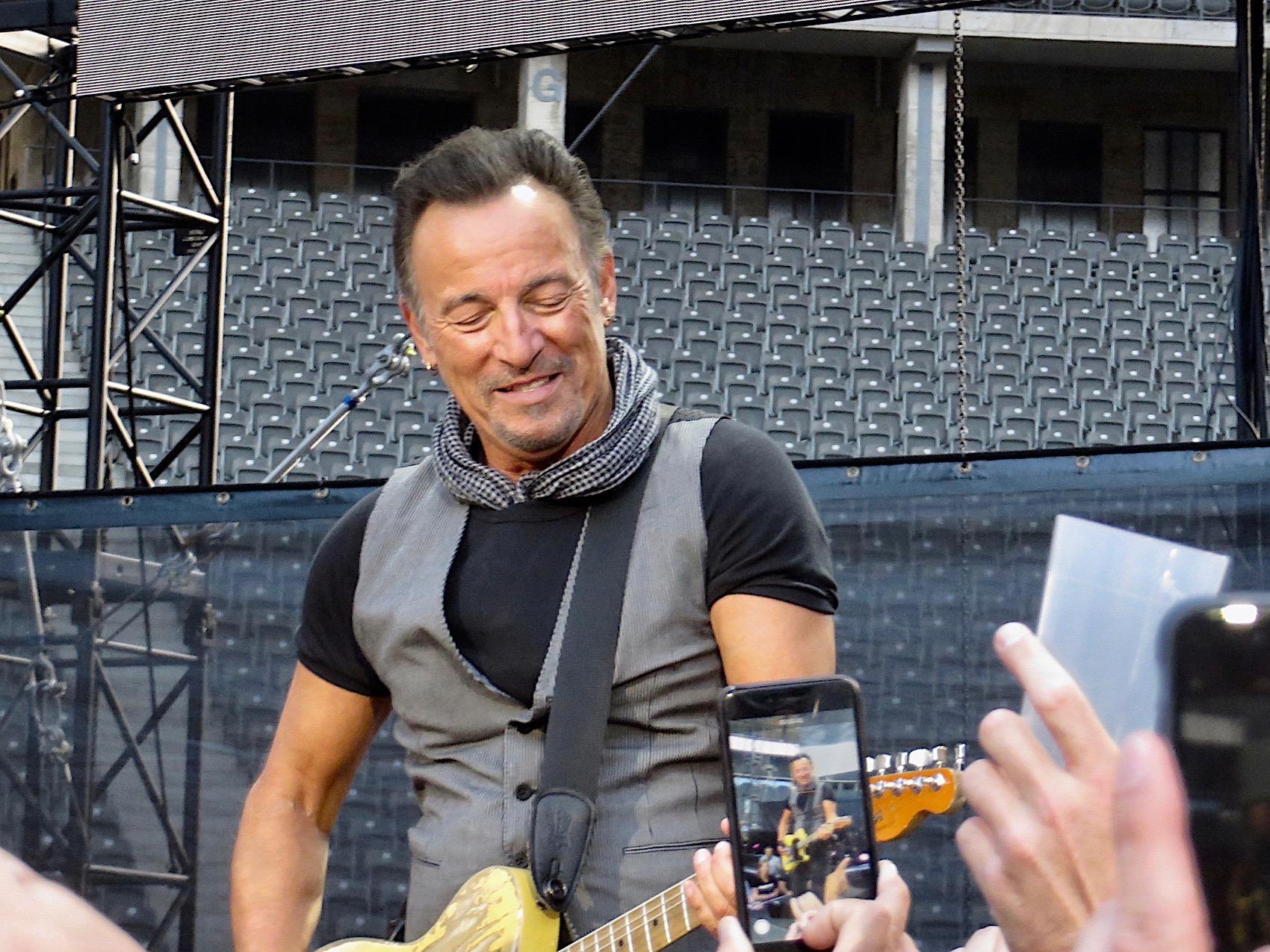 Bruce Springsteen - Berlin, 19.06.2016 Foto: Olli Exner