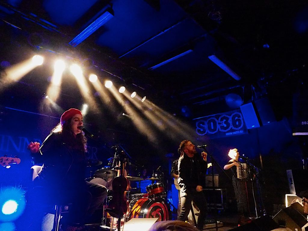 Holy Moly & The Crackers - Berlin, 13.03.2019 Foto: Bine Gasse