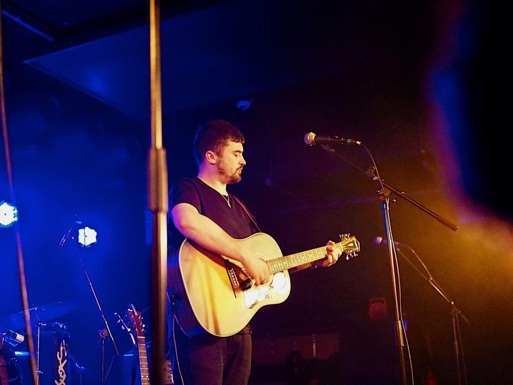 Seán McGowan, Berlin 12.04.2018 - Foto: Olli Exner
