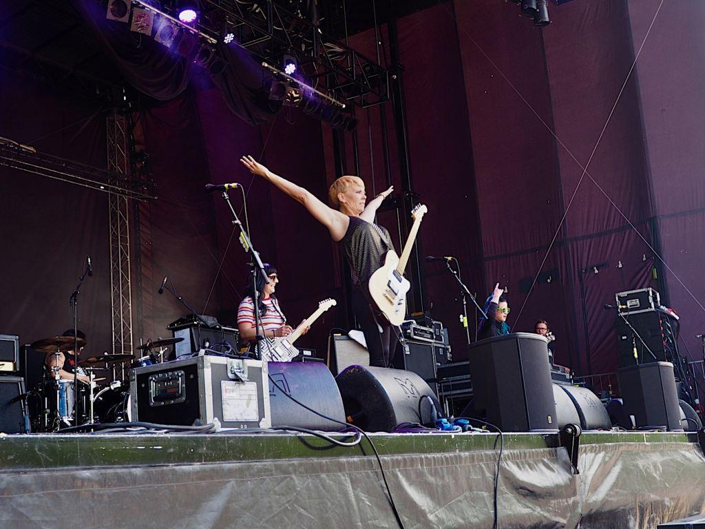 Bad Cop/Bad Cop - Punk in Drublic Festival 2018, Berlin 01.07.2018 - Foto: Olli Exner