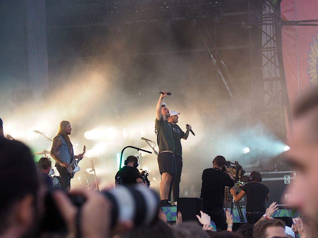 Casper & Marteria@Lollapalooza Berlin 2018 - 08.09.2018 - Foto: Olli Exner