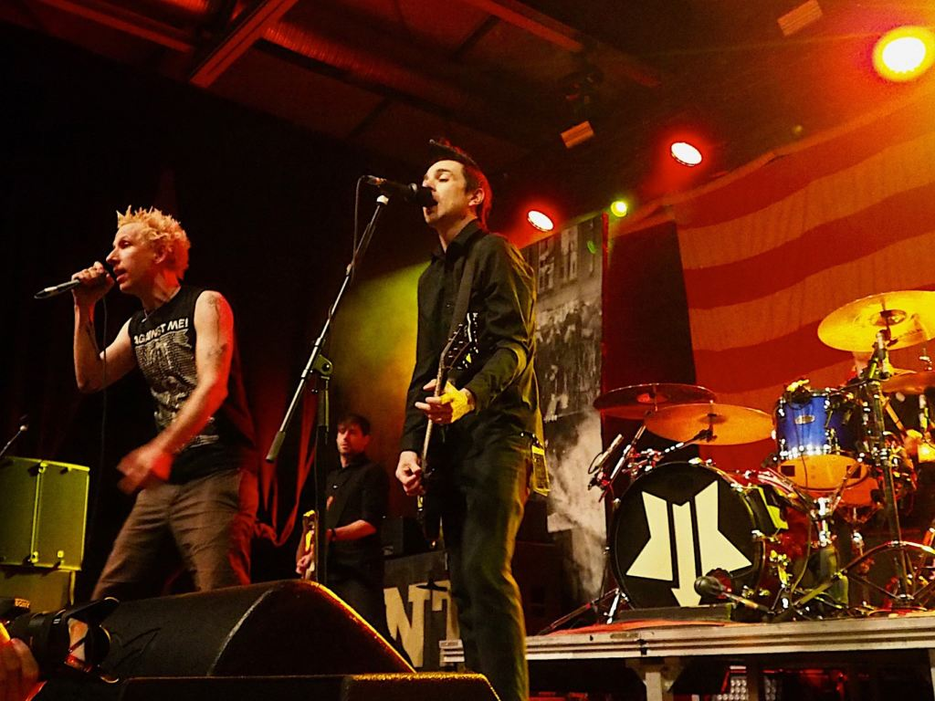 Anti-Flag & ZSK @ DONOTS 25th Birthday Slam, Berlin 26.04.2019