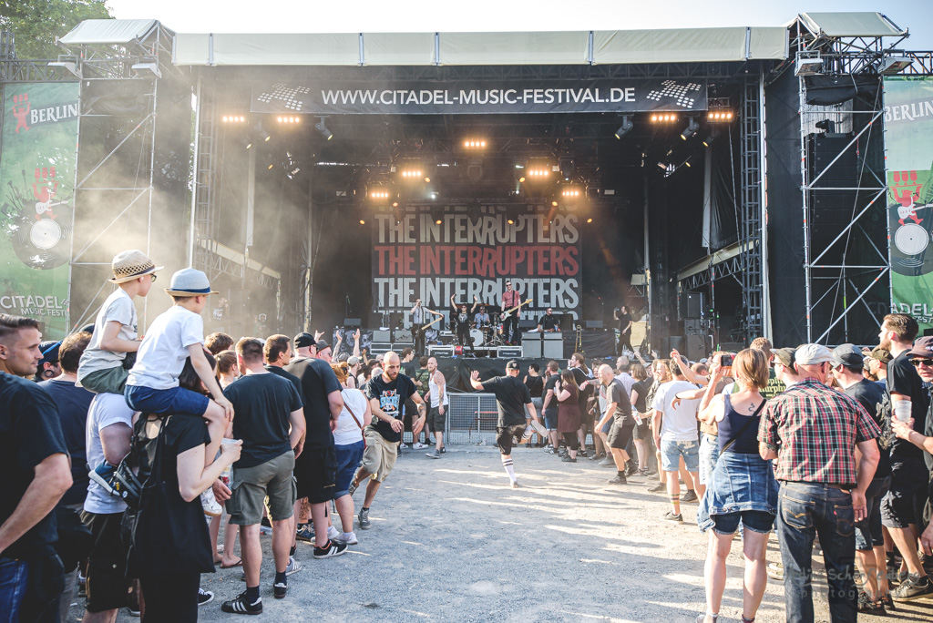 The Interrupters at Zitadelle Spandau, Berlin (2019) - Foto: Adina Scharfenberg