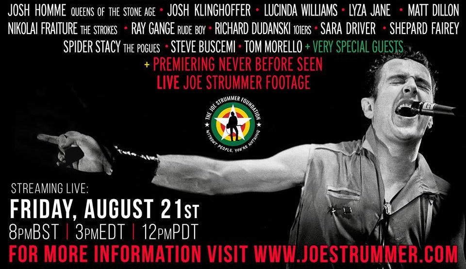 """Heute Abend: """"A Song For Joe""""-Livestream mit Frank Turner, Bruce Springsteen und viele mehr"""