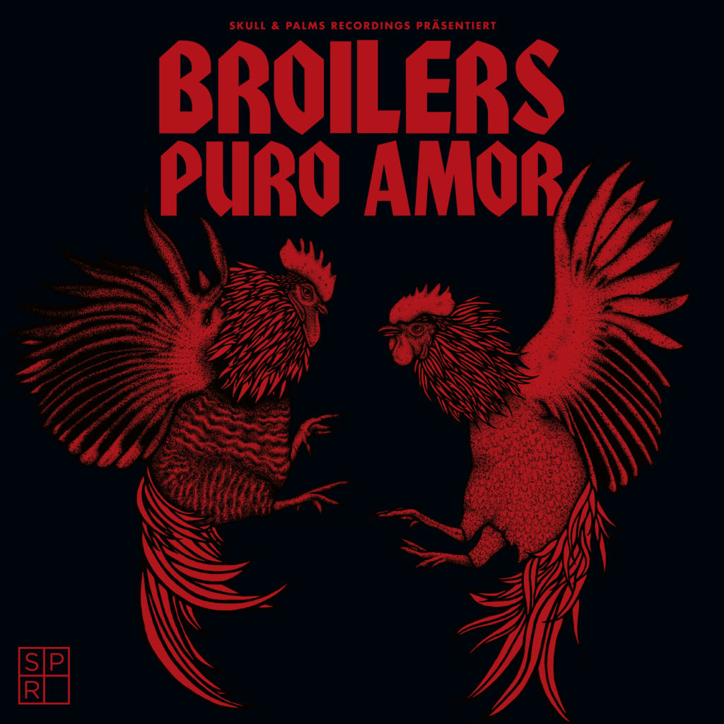 """Broilers """"Puro Amor""""-Cover"""