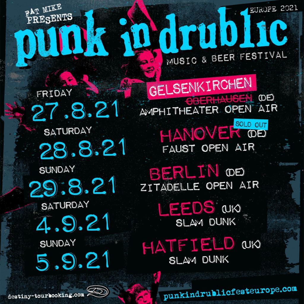 """""""Punk in Drublic"""" - Neue Daten"""