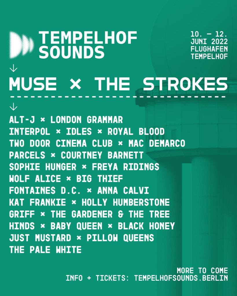 Tempelhof Sounds Lineup